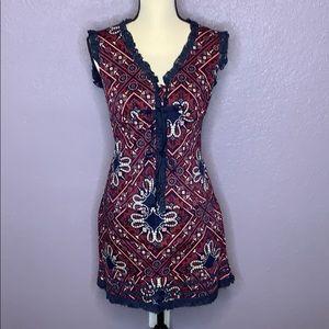 Nanette Lepore Bandana Paisley Skirt Set